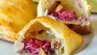Hazelnut Blackberry Brie Puffs