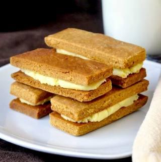 Ginger Orange Shortbread Cookies