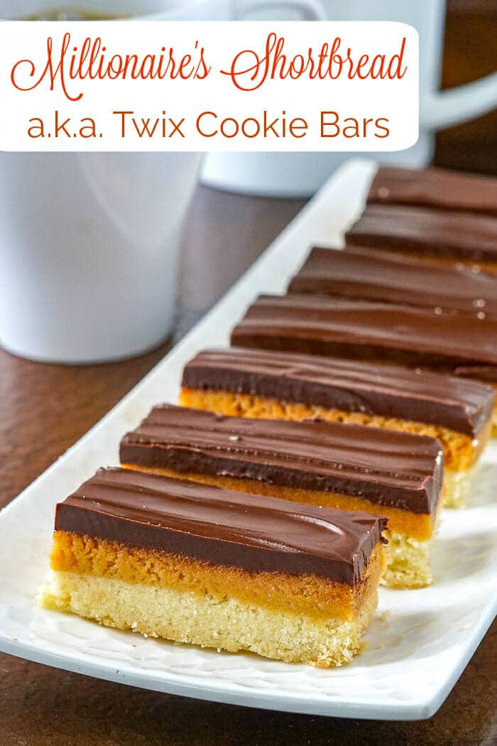 Twix Cookies photo with title text overlay