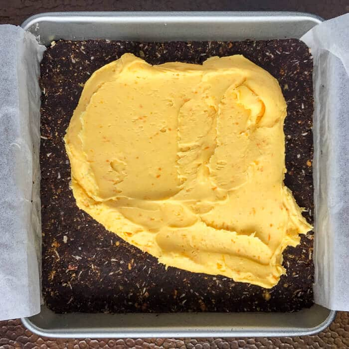 Chocolate Orange Nanaimo Bars