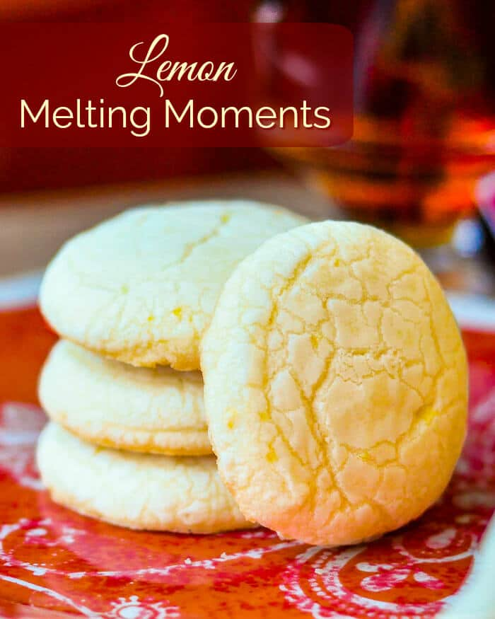 Lemon Melting Moments image with title text