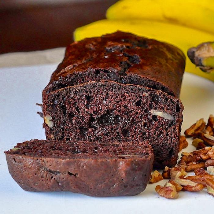 Double chocolate pecan banana bread better than grans double chocolate pecan banana bread forumfinder Choice Image