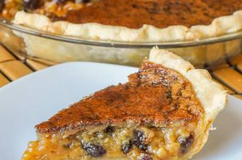 Maple Butter Tart Pie
