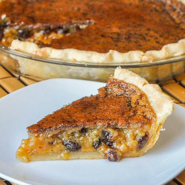 Maple Butter Tart Pie