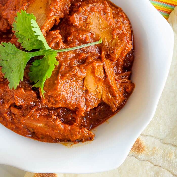 Easy Leftover Turkey Tomato Curry