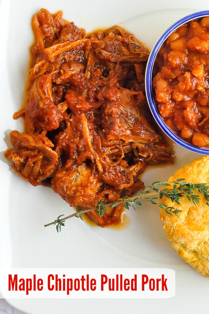 Maple Chipotle Pulled Pork