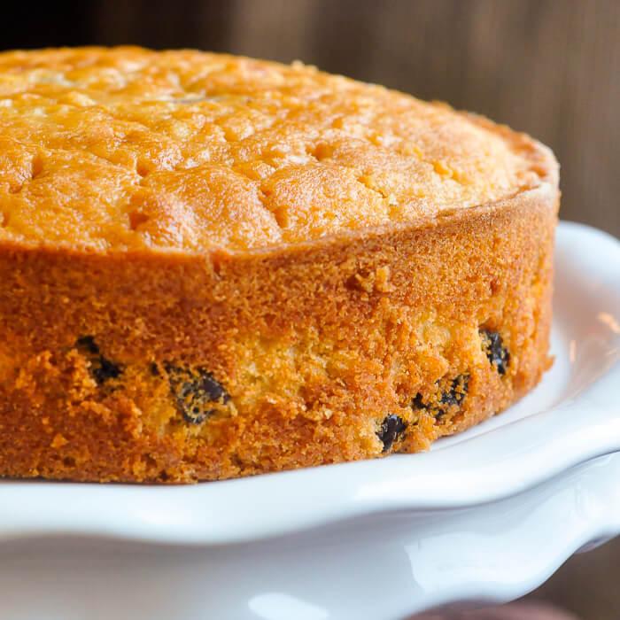 Golden Raisin Carrot Cake