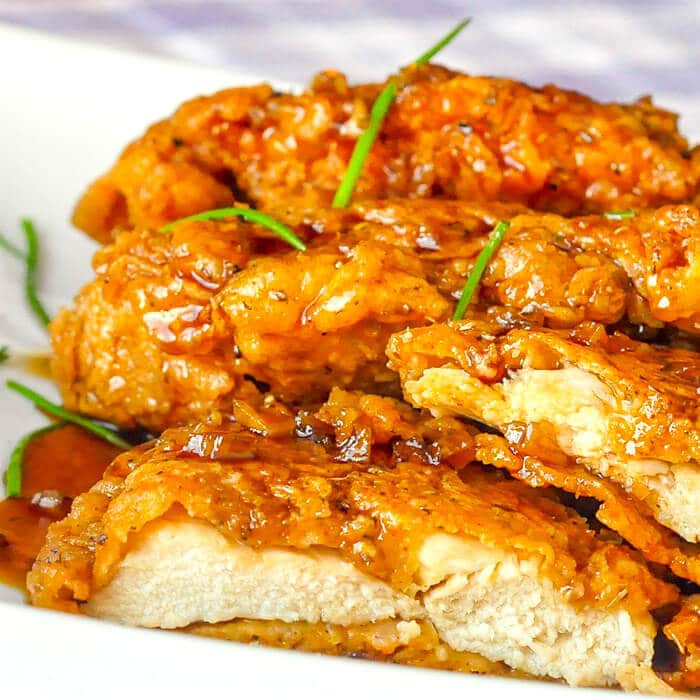 Double Crunch Honey Garlic Chicken Breasts Millions Of Views Online