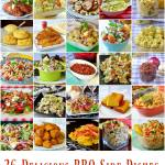 26 Barbecue Side Dishes image collage with text.