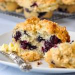 Blueberry Crunch Muffins