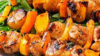 Ginger Soy Grilled Scallops