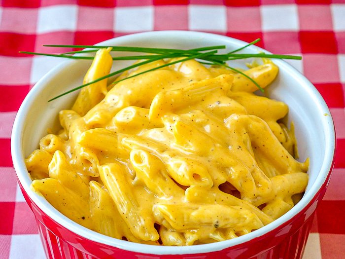 Close up photo of Quick and Easy Stovetop Mac and Cheese
