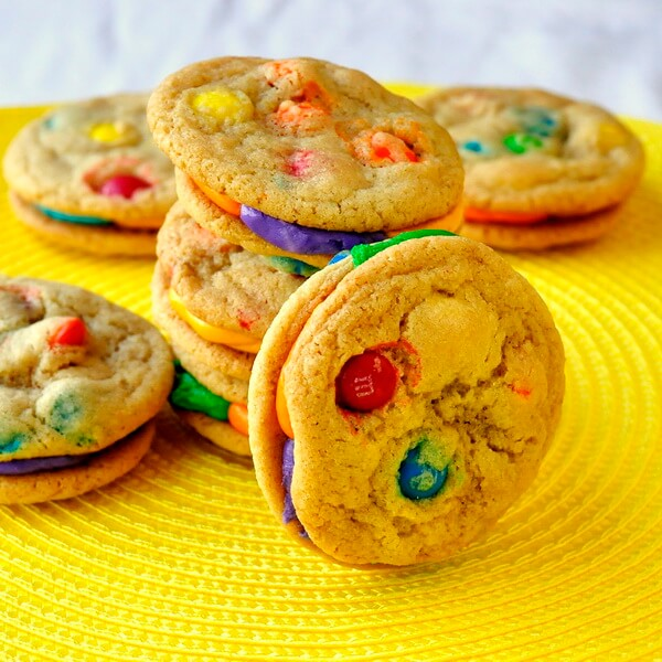 Summer Fun M&M Cookies