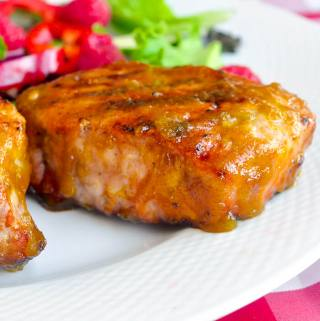 Rum Mango Barbecue Sauce - a deliciously different barbecue sauce with tropical flavours that work incredibly well with chicken and pork.