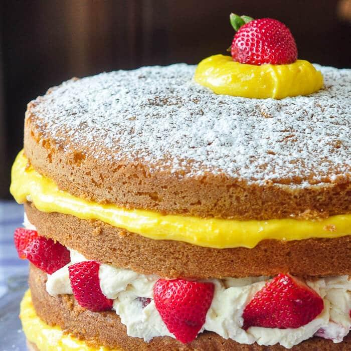 Summer Sunshine Cake