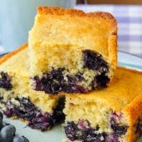 Blueberry Snack Cake – a.k.a. Baked Newfoundland Blueberry Duff