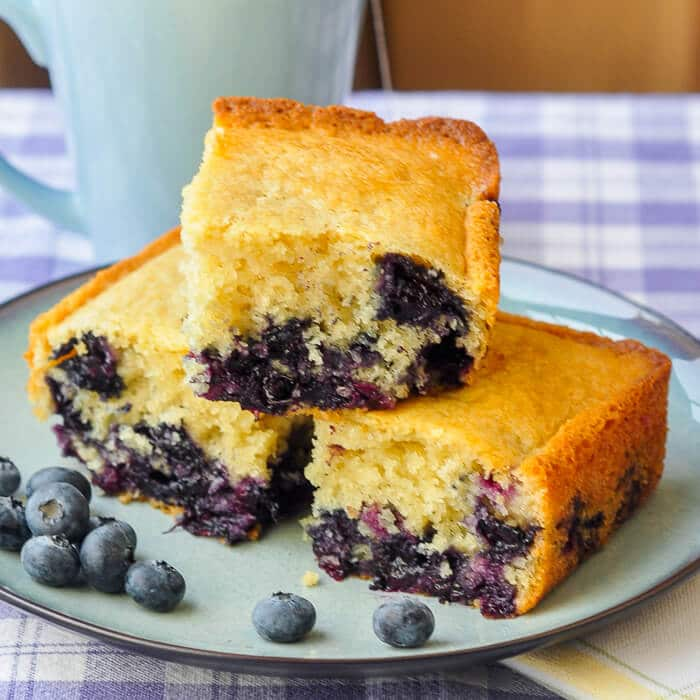 Rock Recipes Popular And: Blueberry Snack Cake- An Old Fashioned Favourite!