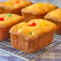 Gumdrop Crinkle Cakes