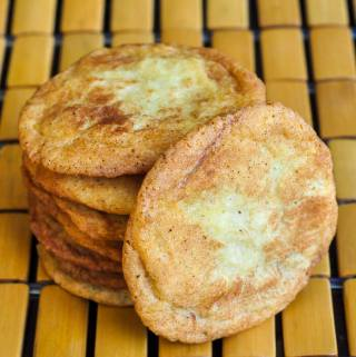 All Butter Soft and Chewy Snickerdoodles