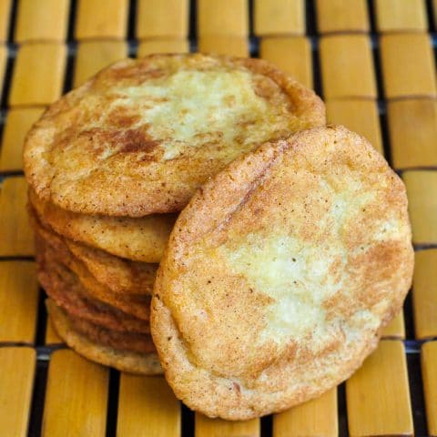 The Best Snickerdoodles Recipe - buttery, crispy, soft & chewy!
