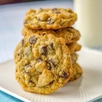 Perfect Oatmeal Chocolate Chip Cookies