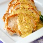 Pan Seared Pork Chops with Dijon Butter Sauce featured image