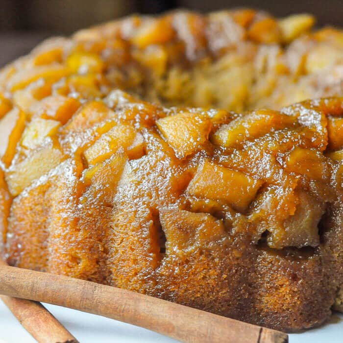 Sticky Toffee Apple Cake