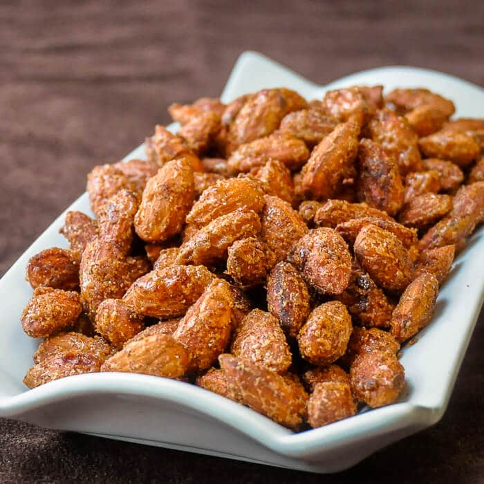 Smoky Sweet Spiced Almonds