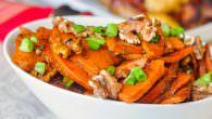 Stir Fried Orange Walnut Sweet Potatoes