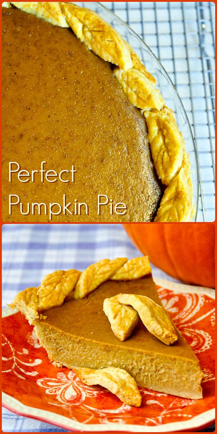 Pumpkin Pie, photo with Text