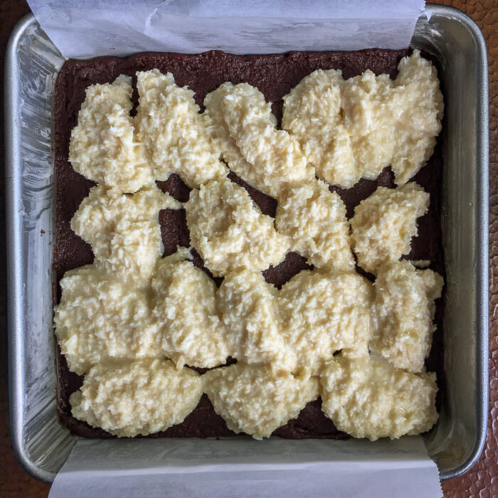 Queen Anne Squares almost ready for the oven.