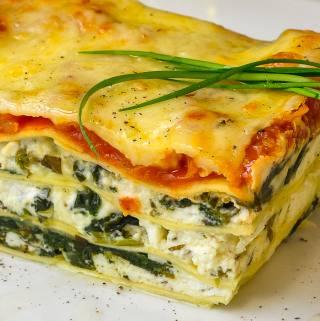 Spanakopita Lasagna