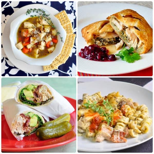 22 fantastic leftover turkey recipes rock recipes for Leftover thanksgiving turkey recipes