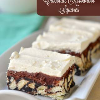 These old fashioned Chocolate Arrowroot Cookie Squares are an all-time favorite that has been made in my family for decades; great for the freezer too.