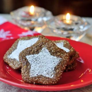 Cafe Mocha Cutout Cookies