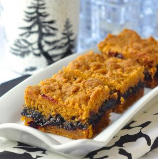 Graham Crumble Cherry Bars