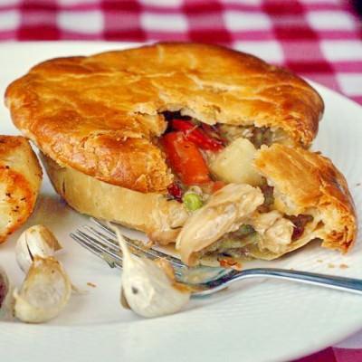 Old Fashioned Turkey Pot Pie