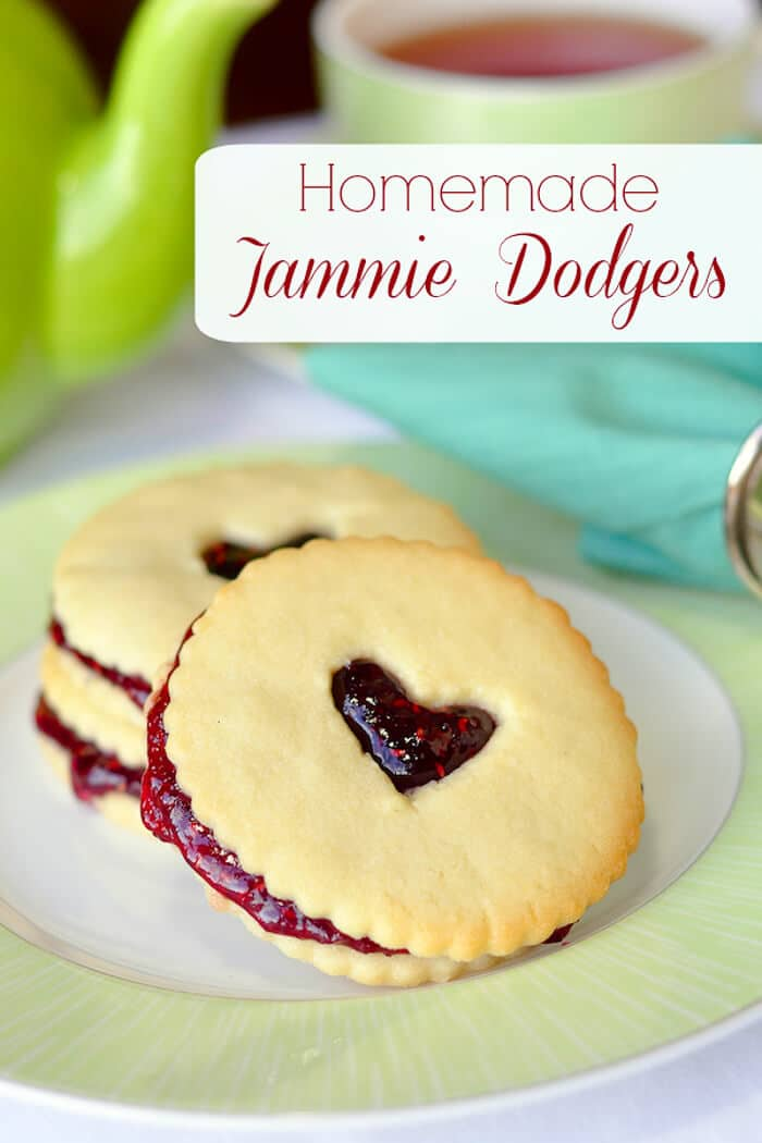 Homemade Jammie Dodgers with Raspberry Jam