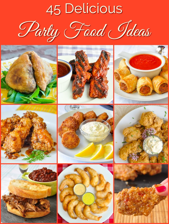45 great party food ideas from sticky wings to elegant hors douevres 45 great party food ideas heres a list of links to 45 of our best hors doeuvres finger foods and delicious nibbles to make every occasion from super forumfinder Gallery
