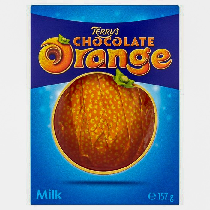 Terry's Chocolate Orange photo of unopened package