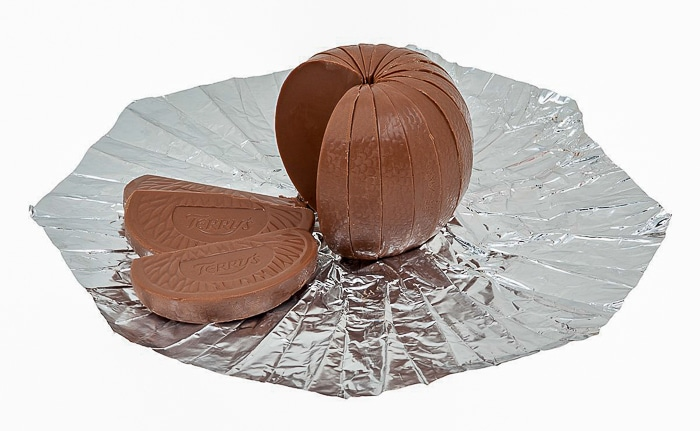 Terry's Chocolate Orange open package