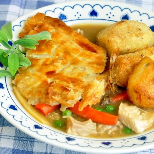 Shortcut Turkey Pot Pie