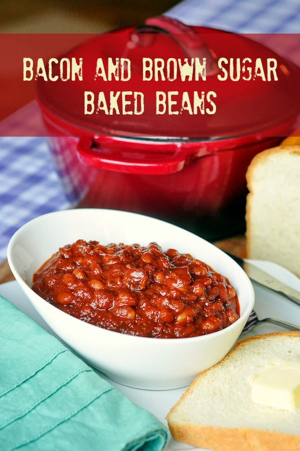 Bacon Brown Sugar Baked Beans