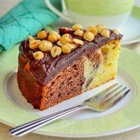 Chocolate Grand Marnier Sour Cream Coffee Cake