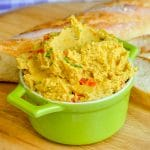 Curry Spiced Roasted Red Pepper Hummus featured image for Google
