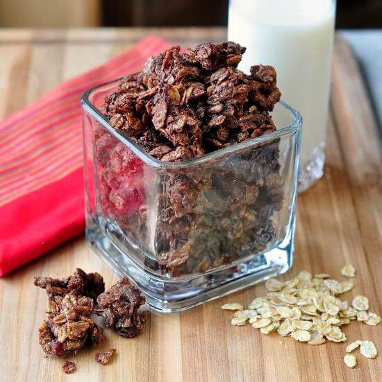 Chocolate Kamut Granola