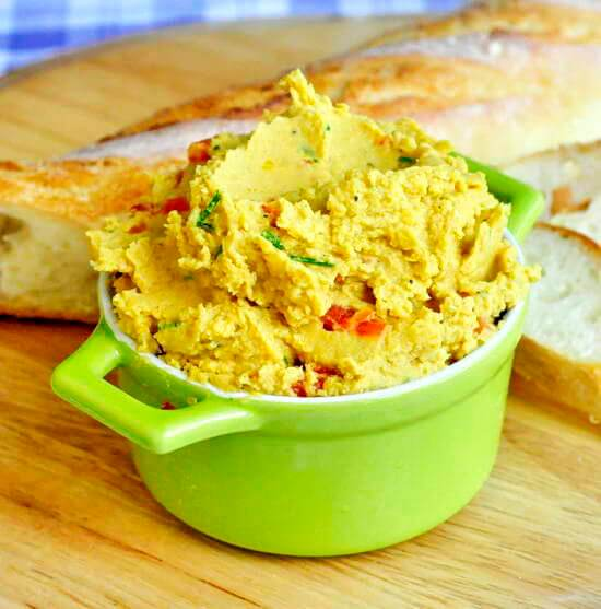 Curry spiced roasted red pepper hummus rock recipes for Roasted red pepper hummus recipes