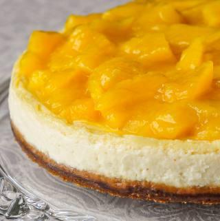 Creamy Gingersnap Mango Flan