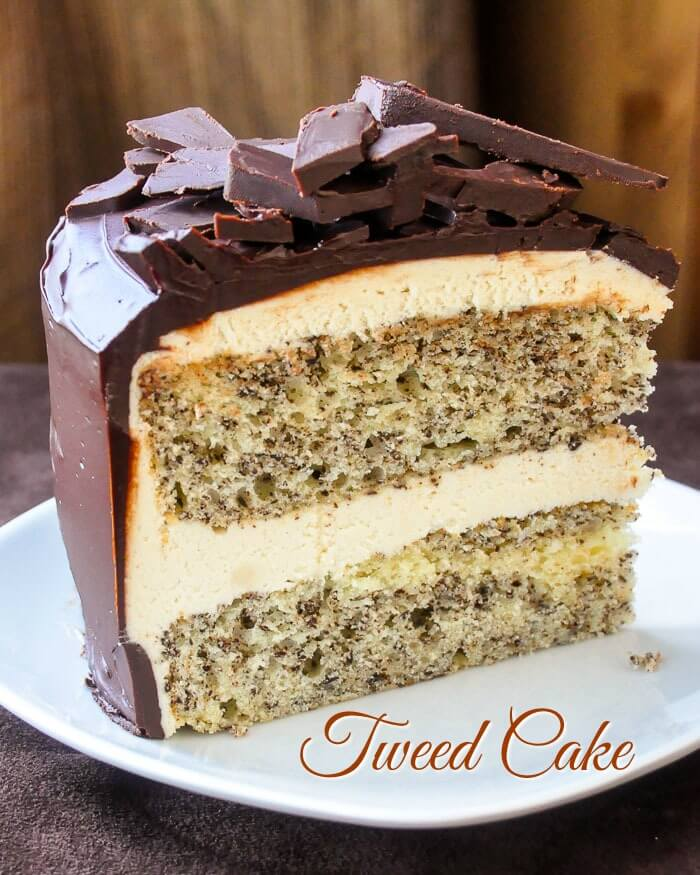 Tweed Cake. Based upon a very familiar and popular cookie square recipe in Newfoundland when I was a kid...and still is in my family.