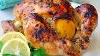Dijon Roasted Lemon Chicken